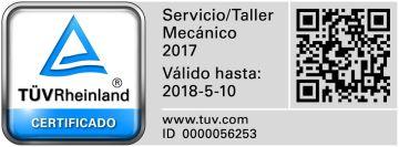 Certificación TUVRheinland
